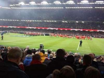 Principality Stadium, secção: L28, fila: 15, lugar: 14