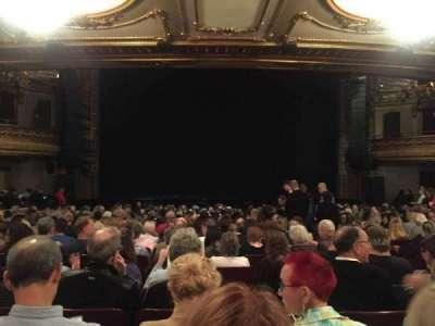Palace Theatre (Broadway), secção: ORCH, fila: U, lugar: 109