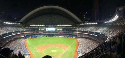 Rogers Centre, secção: 524BL, fila: 108, lugar: 102