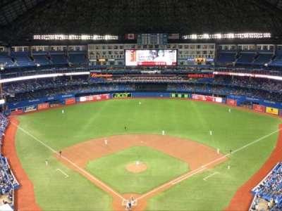 Rogers Centre, secção: 524, fila: 21, lugar: 1
