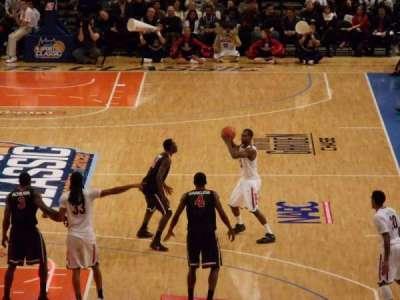 Madison Square Garden, secção: 112, fila: 20