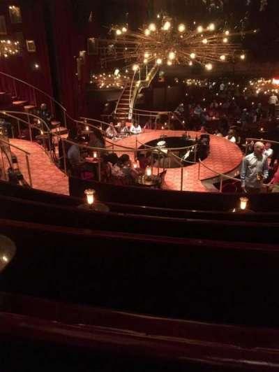 Imperial Theatre, secção: Right Banquette, fila: BF, lugar: 1