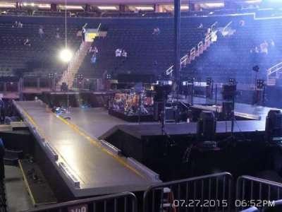 Madison Square Garden secção 109