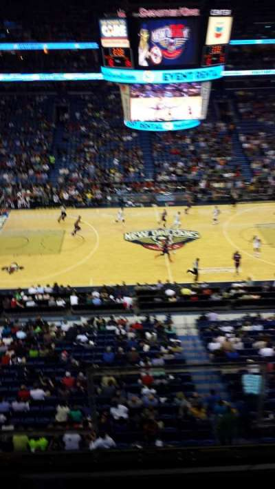 Smoothie King Center secção 301
