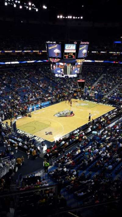 Smoothie King Center secção 305