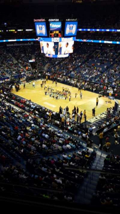 Smoothie King Center secção 313