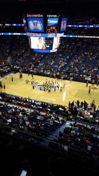 Smoothie King Center secção 315