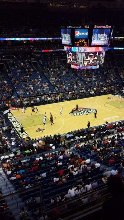 Smoothie King Center secção 319