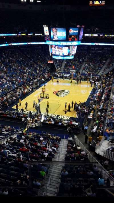Smoothie King Center secção 323