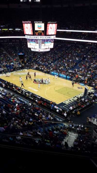 Smoothie King Center secção 329