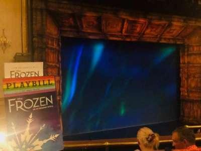 St. James Theatre, secção: Mezzanine, fila: C, lugar: 7
