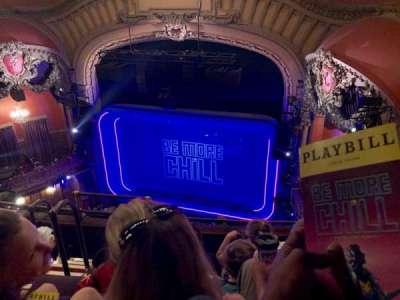 Lyceum Theatre (Broadway) secção Balcony R