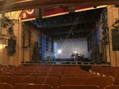 Booth Theatre secção Orchestra