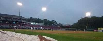 Dodd Stadium, secção: 2, fila: AA, lugar: 1