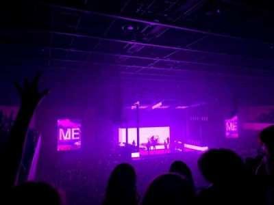 Bournemouth International Centre, secção: Balcony, fila: E, lugar: 118