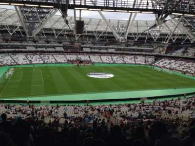 London Stadium secção 233