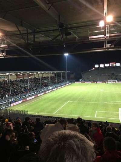 Stade Jean Bouin, secção: Coubertin D, fila: AE, lugar: 108