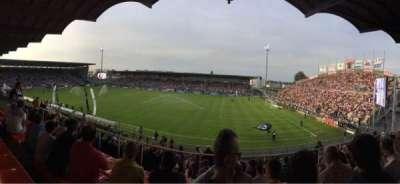 Stade Jean Bouin, secção: Jean Bouin Laterale, fila: S, lugar: 2