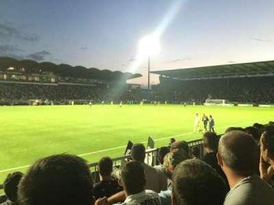 Stade Jean Bouin, secção: St Leonard Laterale, fila: D, lugar: 188