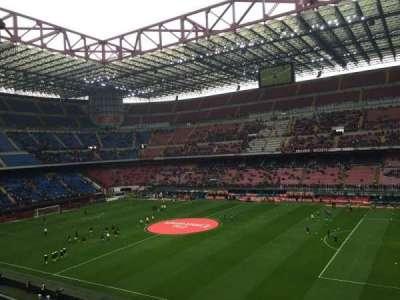 Stadio Giuseppe Meazza, secção: Arancia, fila: 261, lugar: 7-28