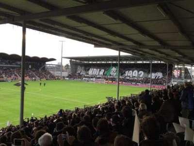 Stade Jean Bouin, secção: St Leonard Laterale, fila: V, lugar: 169