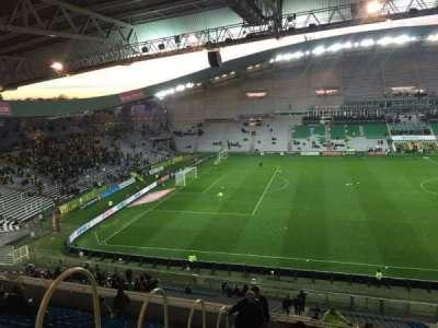 Stade de la Beaujoire, secção: Oceane Haut, fila: Q, lugar: 168