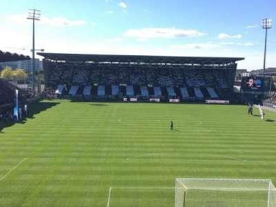 Stade Jean Bouin, secção: Colombier, fila: Haute