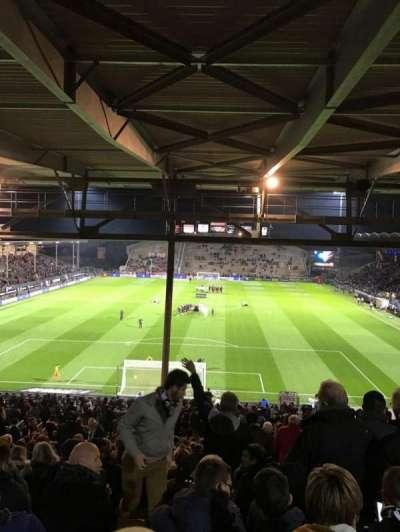 Stade Jean Bouin, secção: Coubertin C, fila: AL, lugar: 132