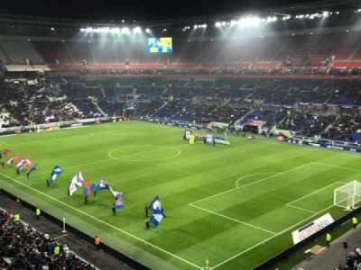 Parc Olympique Lyonnais, secção: 401, fila: 2, lugar: 1