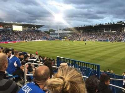 Stade Saputo, secção: Sud, fila: 120, lugar: N28