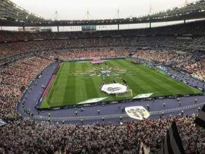 Stade de France, secção: Nord Haute, fila: L15, lugar: 67-1