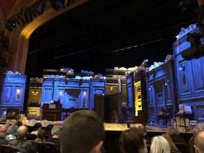 American Airlines Theatre, secção: Orch, fila: F, lugar: 6