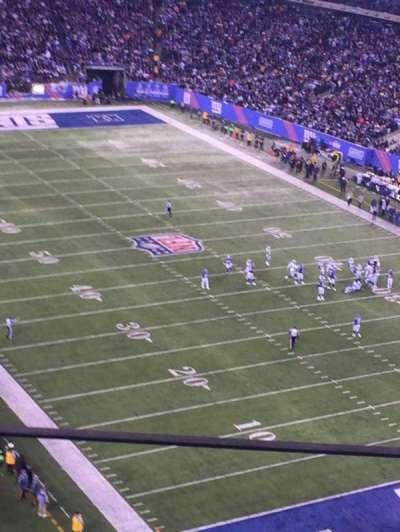 MetLife Stadium, secção: 305, fila: 7