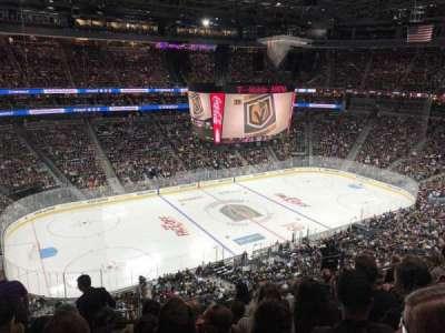 T-Mobile Arena secção 202