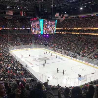 T-Mobile Arena secção 118