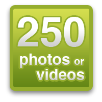 Share 250 photos or videos