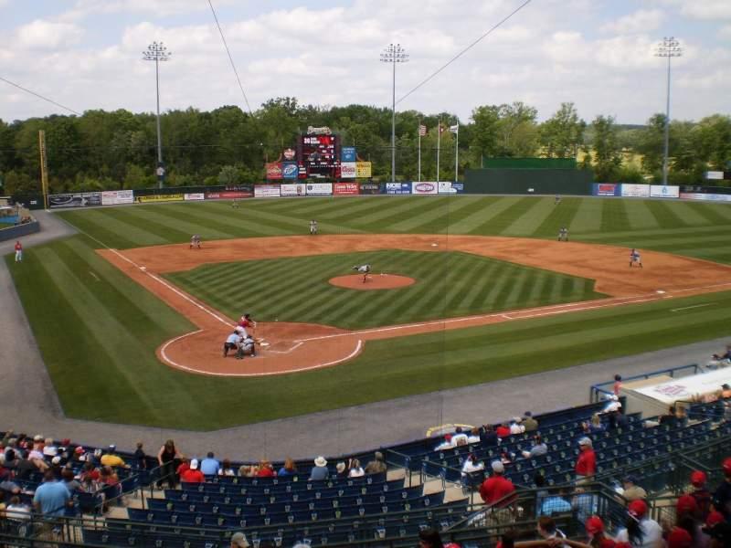 Vista sentada para State Mutual Stadium Secção Suite 310 Fila n/a Lugar 8