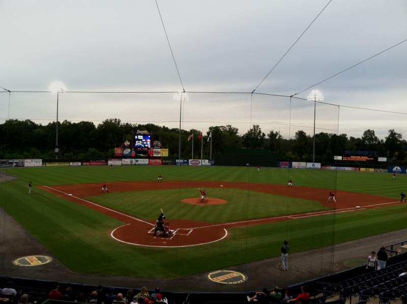 Vista sentada para State Mutual Stadium Secção 201 Fila 10 Lugar 2