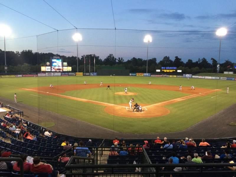 Vista sentada para State Mutual Stadium Secção 200 Fila 9 Lugar 2