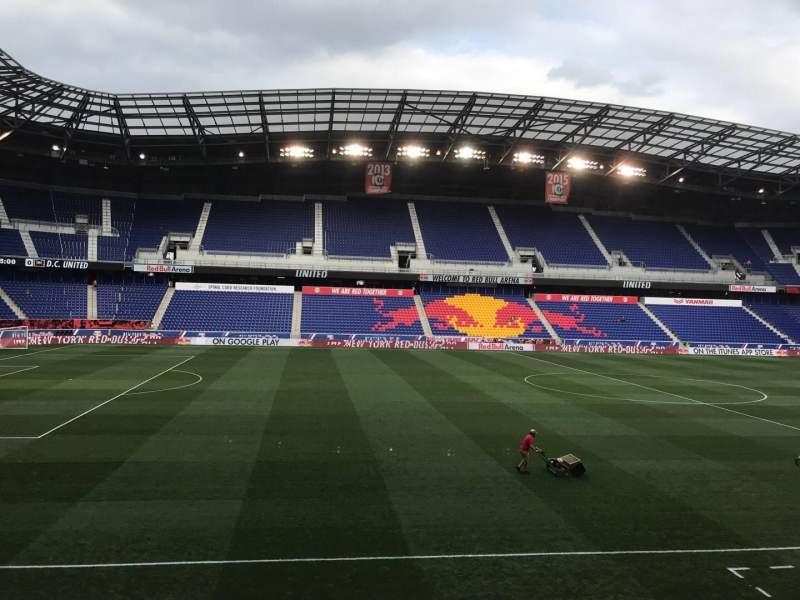 Vista sentada para Red Bull Arena (New Jersey) Secção 111 Fila 12 Lugar 17