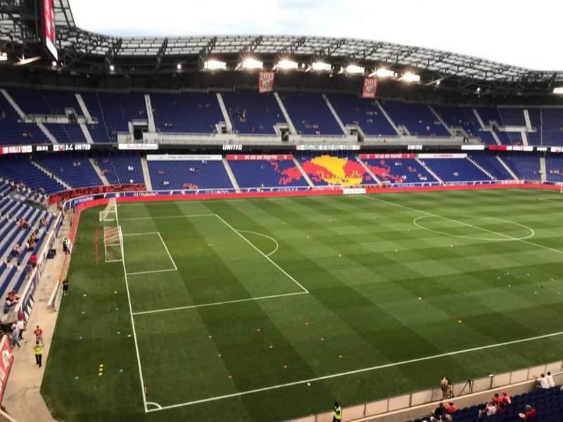 Vista sentada para Red Bull Arena (New Jersey) Secção 214 Fila 8 Lugar 1