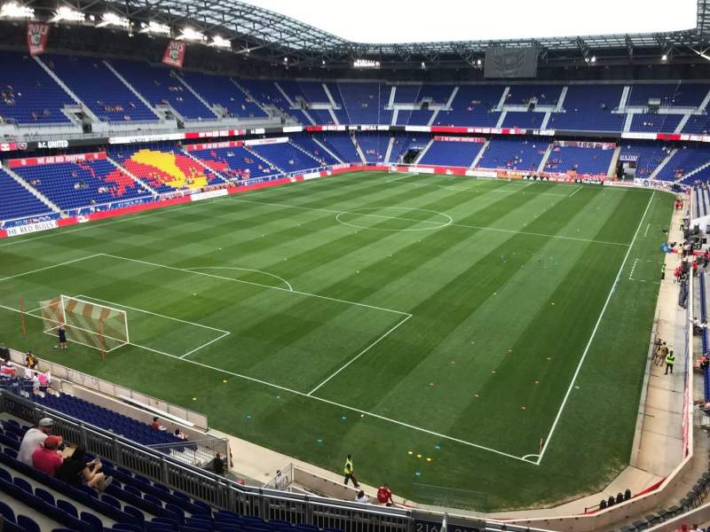 Vista sentada para Red Bull Arena (New Jersey) Secção 216 Fila 11 Lugar 3