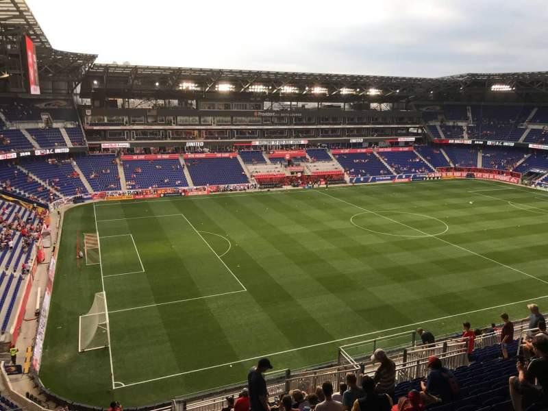 Vista sentada para Red Bull Arena (New Jersey) Secção 229 Fila 20 Lugar 21