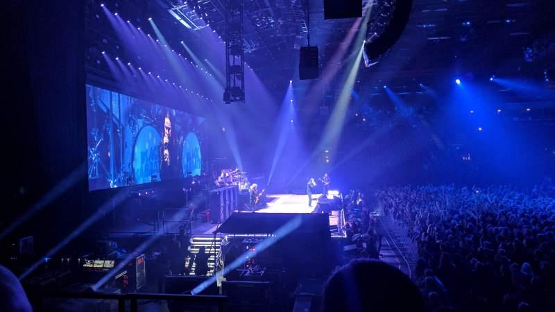 Vista sentada para Resorts World Arena Secção 16 Fila G Lugar 513