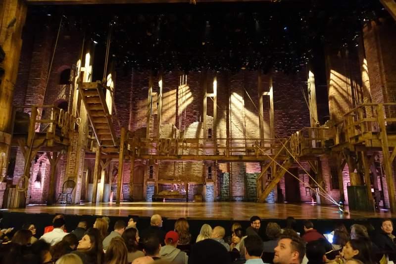 Vista sentada para Richard Rodgers Theatre Secção Orchestra C Fila G Lugar 106