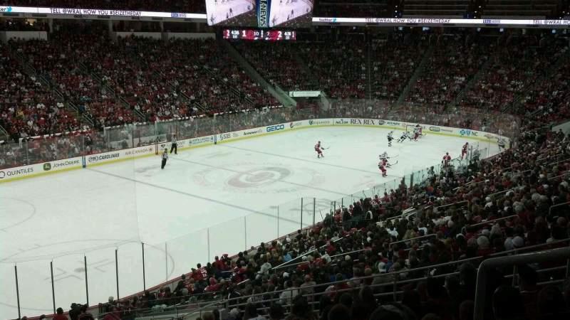Vista sentada para PNC Arena Secção 107