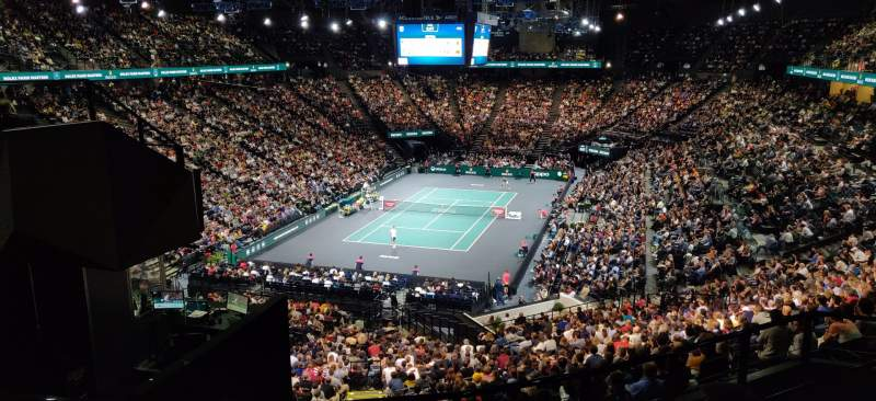Vista sentada para AccorHotels Arena Secção B Fila 85 Lugar 2