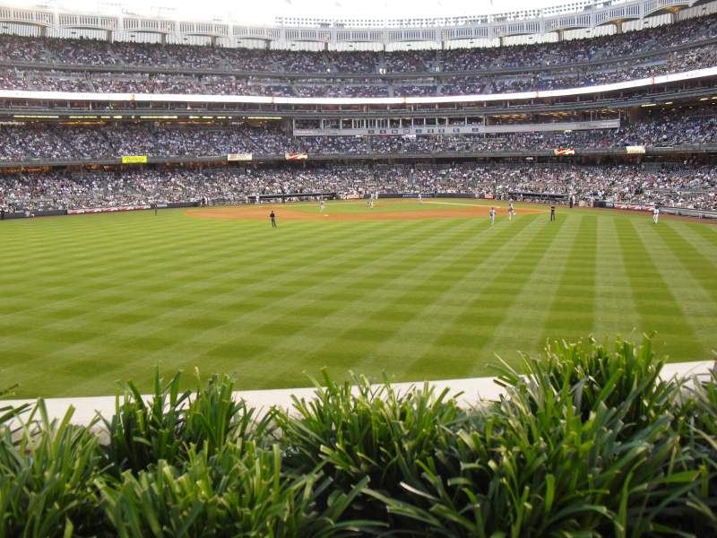 Vista sentada para Yankee Stadium Secção 238 Fila 1