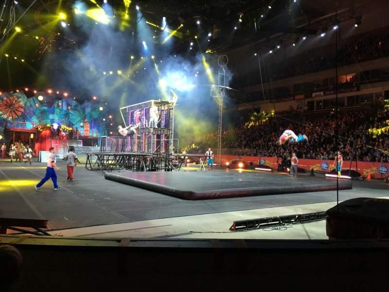 Vista sentada para SNHU Arena Secção 103 Fila B Lugar 8
