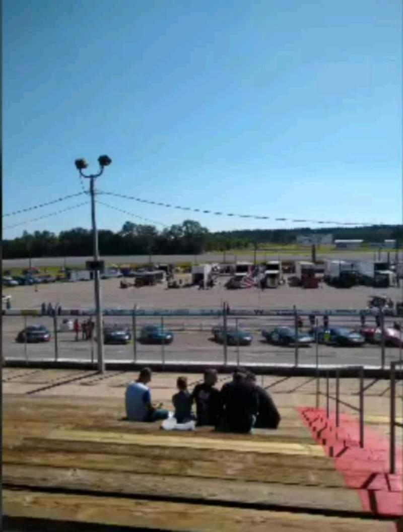 Vista sentada para Mobile International Speedway